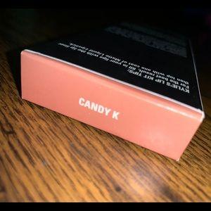 Kylie Matte Lipstick in Candy K